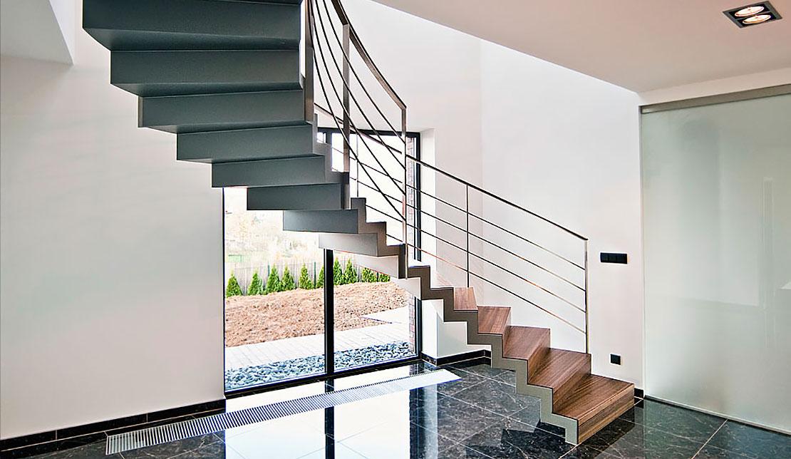 Interiérové schodiště brno
