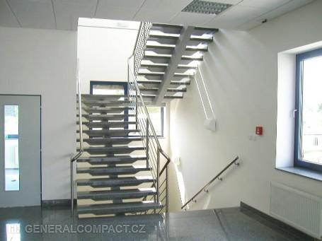 Kovové schodiště vnitřní