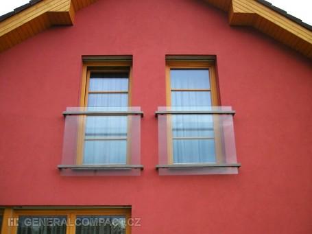 Zábradlí na okna